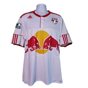 Adidas New York Red Bulls MLS Jersey XL Clima Cool